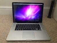 "MacBook pro, 15"", 2010, Intel Core 2 Duo, 2.53 GHz, Damaged screen"