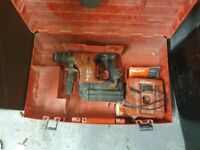 Hilti te 6 a cordless 36volt drill ## needs repair or new battery##