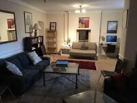 Spacious en suite in large flat in Bayswater/Notting Hill