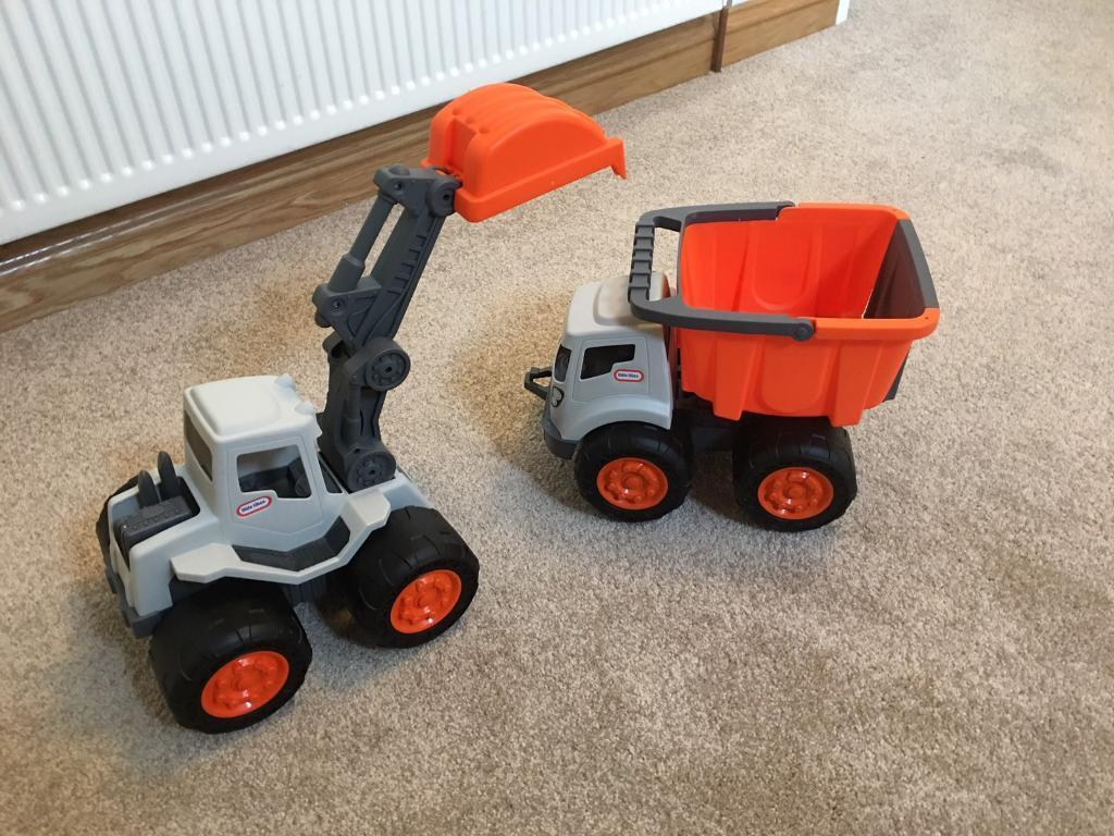 Little tikes dumper digger set