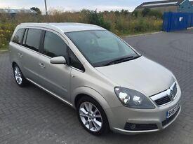 2007 Vauxhall Zafira 1.9 CDTi 16v Design 5dr, Nice Car, PART EXCHANGE WELCOME