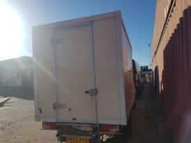 luton van refrigerated freezer fridge box ,off 62 plate Mercedes sprinter SWB