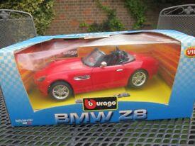 Burago BMW Z8 Toy car
