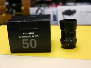 Used Fujifilm XF 50mm f2 WR Lens - In mint Condition with Original box ( Used ) ID 556