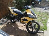 This is a cpi gtr 50cc, spares and repairs, brought as seen.
