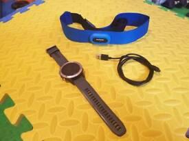 Garmin fenix 5 + Garmin swim hrm strap