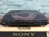 Sony PS-LX250H Automatic Belt-Drive Turntable Record Player