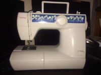 TOYOTA SEWING MACHINE W/ ACCESSORIES £30 OR BEST OFFER