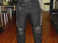 Men's Triumph Branded Trousers Trousers – leather/cordura material
