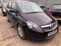 Vauxhall Zafira 1.6 i 16v Life 5dr£2,485 FREE WARRANTY, NEW MOT