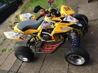 Suzuki LTR 450 quad road legal (12 months mot) not raptor apache £4999ono