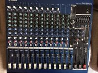 YAMAHA MG16/ 6FX MIXING CONSOLE FX GRAPHIC EQ