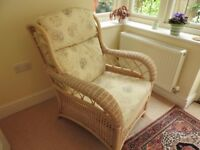 Pair Of Quality Cane / Conservatory Chairs