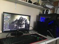 Full Set Up Gaming Computer