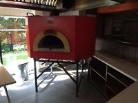 Pizza Oven Stone Bakes Gas fired