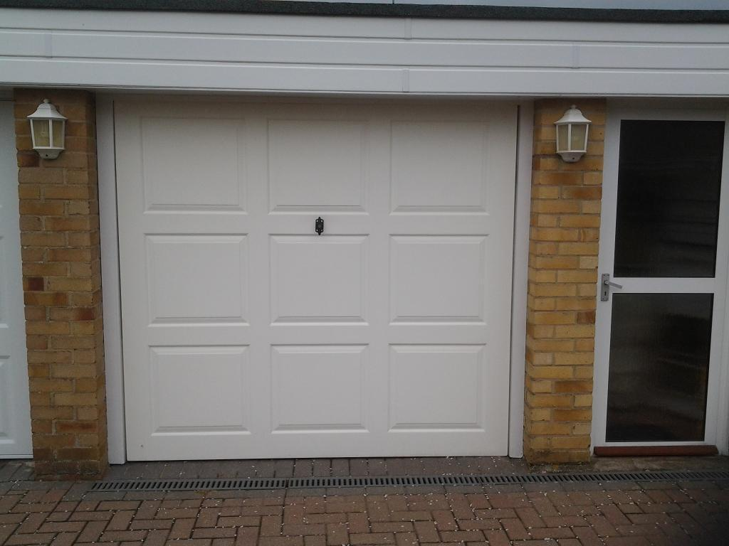 Garage Door 7ft X 6ft 6in With Keys Conopy Up And Over In