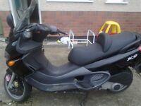 x9 125cc black scooter
