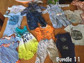 Baby clothes bundle size 3-6 months