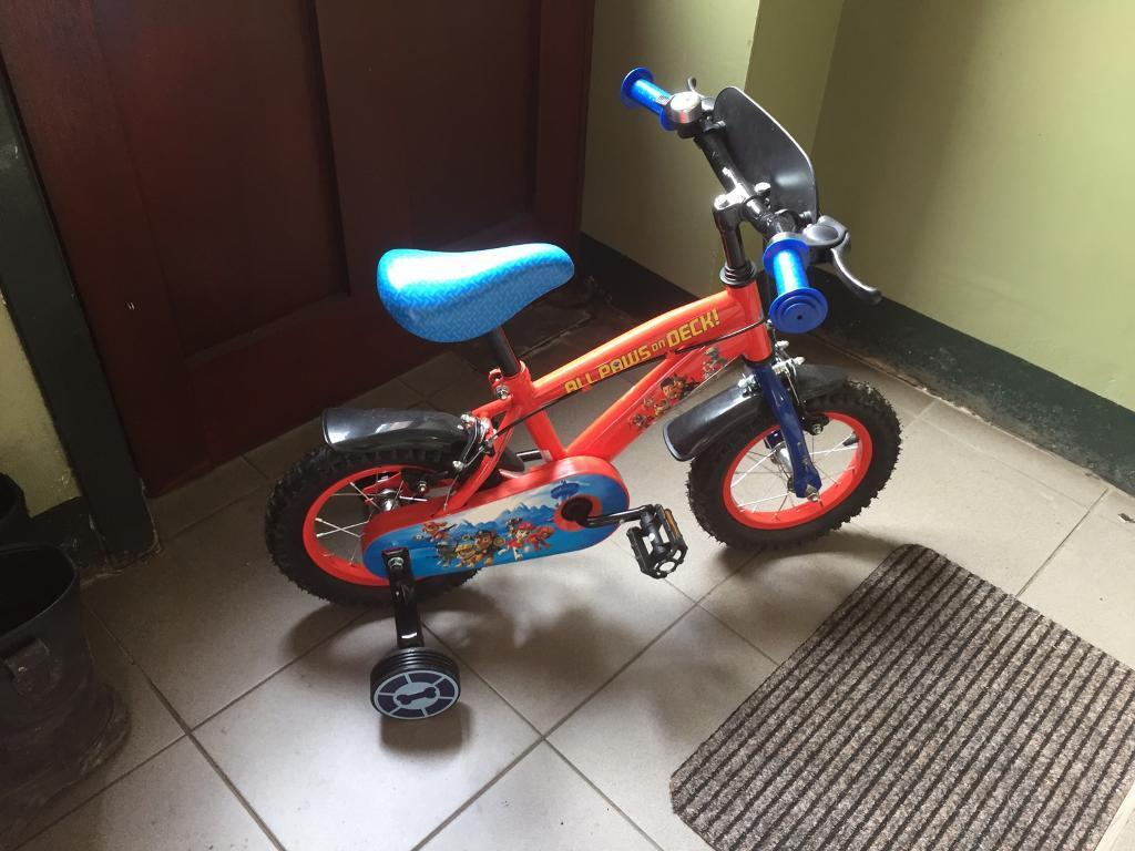 Paw patrol bikein Springburn, GlasgowGumtree - Paw patrol bike for sale , been used once and cosy £80, bargain at £25