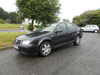 VOLKSWAGEN BORA 1.9 TDI DIESEL S SALOON BLACK 2002 BARGAIN ONLY 595 *LOOK* PX/DELIVERY