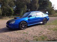 Subaru impreza WRX 2004 54 plate blobeye
