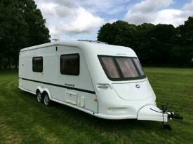 Immaculate ABI Award 4 Berth Caravan Twin Axle Top Specification