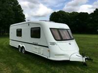 Immaculate ABI Award 4 Berth Caravan Twin Axle Top Specification