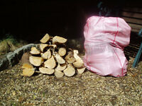 Softwood Logs for sale large bag approx 15kg per bag.