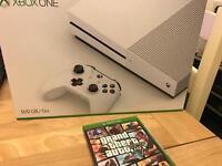 Brand new sealed Xbox one S 4K HDR + GTA V full warranty and Receipt