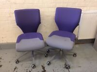 Pair office chairs for sale