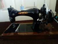 Solid Metal Hand Crank Sewing Machine