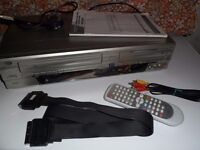 dvd recorder with video cassette recorder model no. adb2737bd