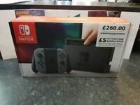 *REDUCED* Nintendo Switch Grey Joycon