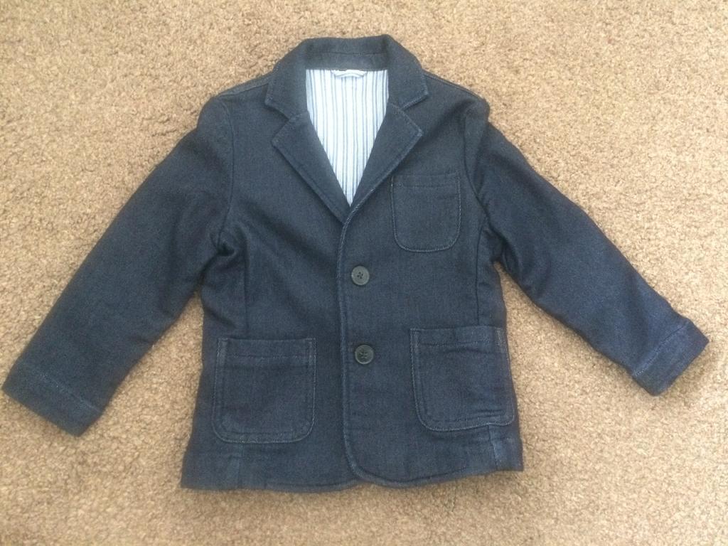 Boys 'Next' denim blazer, aged 2-3