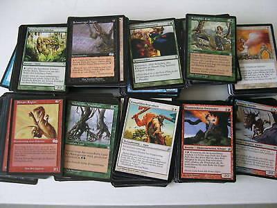 XXX 1000 MAGIC THE GATHERING karten deutsch sammlung deck mtg XXX XXX XXX XXX