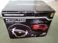 THRUSTMASTER F430 FORCE FEEDBACK RACING WHEEL FOR PC