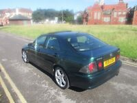 Lexus is200 6 speed Manual 155 BHP