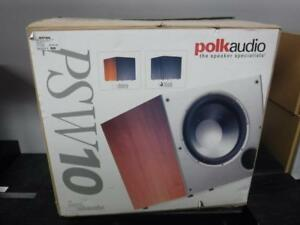 Polk Audio Powered Sub PSW10. We Buy and Sell Used Home Audio Equipment. 5485*