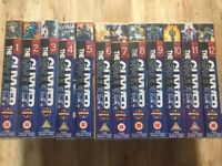 The Guyver VHS full set 1-12 Rare and in excellent condition