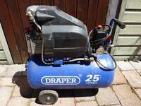 Small Draper compressor (needing attention) for sale