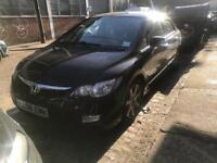 HONDA CIVIC HYBRID IMA 1.3 2008 BLACK