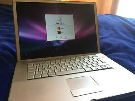 Apple Mac Powerbook G4 15''