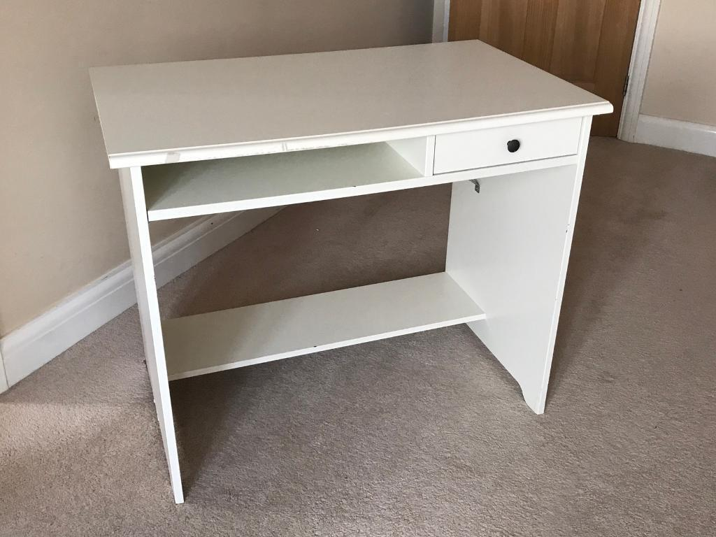 Ikea hemnes white desk in southampton hampshire gumtree