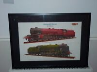 PICTURE OF STEAM LOCOMOTIVE.ONLY £5