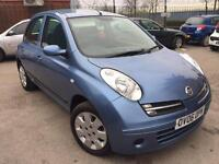 2006 NISSAN MICRA 1.4 SE 5dr AUTOMATIC # GENUINE LOW MILEAGE # EXCELLENT CONDITION # CAT C