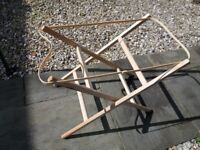 Moses basket stand, as new condition