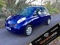 NISSAN MICRA 1.2 S 5dr - SERVICED + MOT + WARRANTY + AA COVER