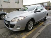 RENAULT MEGANE 2010 1.5DCI DYNAMIQUE TOMTOM COUPE - LOW TAX - focus astra golf leon (silver) 2010