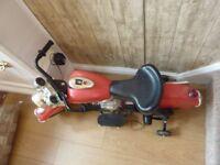 Collectible Indiana Electric Motoycyle, motor Bike