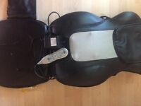 Homedics Deluxe Massage Quad Roller Chair QRM 400 as new